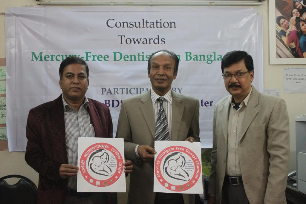 Consultation towards Mercury-Free Dentistry among ESDO, BDS and Asian Center