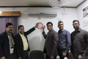 Pioneering approach in Bangladesh in the whole Asia to Identify and Recognize Mercury Amalgam free Dental chamber