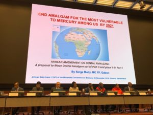 Side Event of Third meeting of the Conference of the Parties to the Minamata Convention on Mercury (COP3)