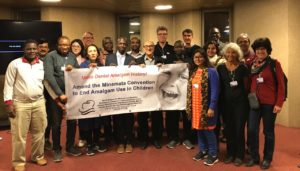 World Alliance for Mercury-Free Dentistry Preparatory Meeting in COP 2