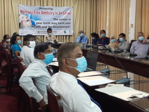 CEJ Organized a Round Table Discussion on 'Mercury free Dentistry in Sri Lanka'