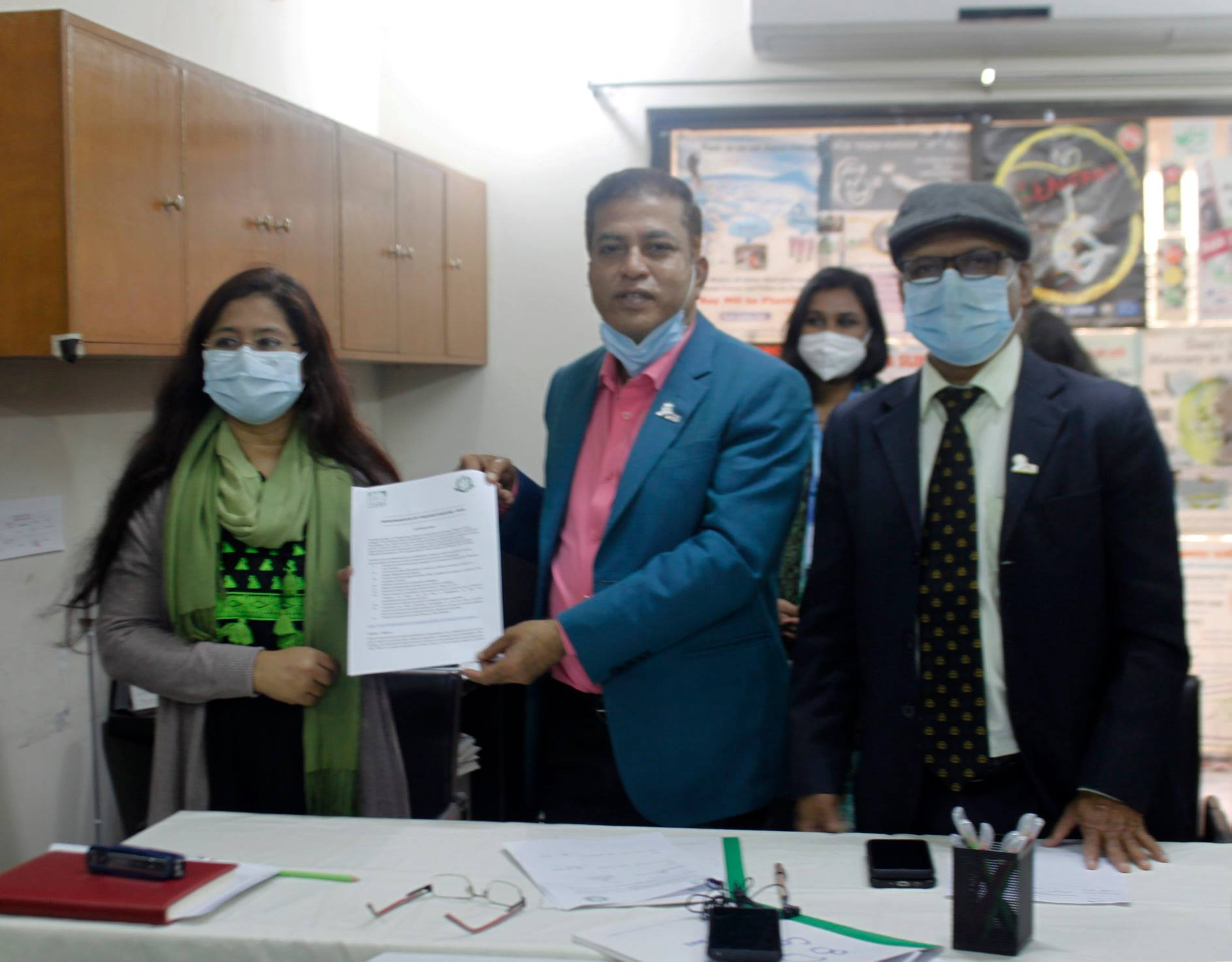 Bangladesh Dental Society and ESDO signed MOU for the third time!